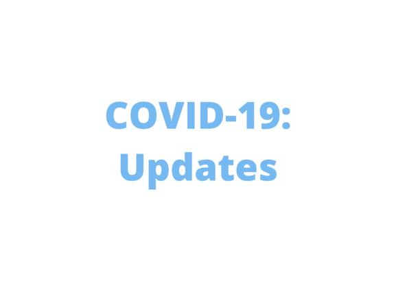 COVID-19: finances updates